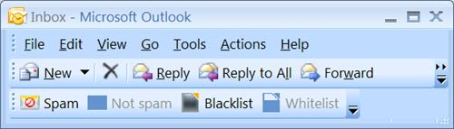 avast! AntiSpam Filter for Outlook