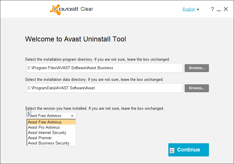 deactivate avast cleanup